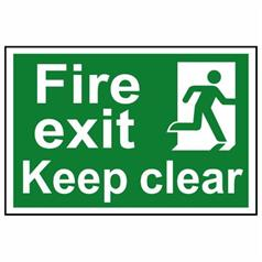 Fire Safety And Safe Condition Signs