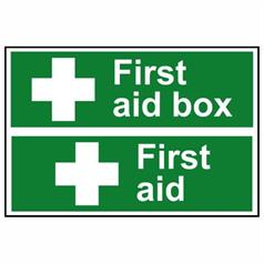 First Aid Signs And Kits