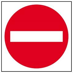 Non-Reflective Road Signs