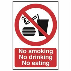 No Smoking And Prohibition Signs