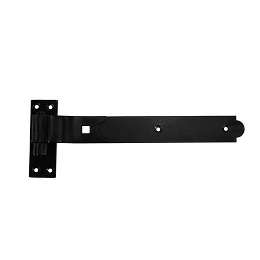 "130 Cranked Heavy Hooks And Rides; Black (BK); 250mm (10"")"