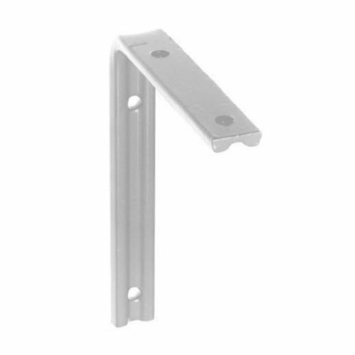 "247 Fluted Angle Bracket; Galvanised (GALV); 75 x 50mm (3"" x 2"")"