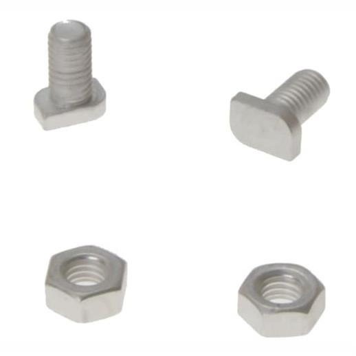 ALM GH003 Cropped Greenhouse Glazing Bolts And Nuts; Pack (20)