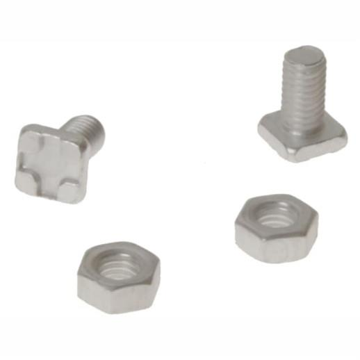 ALM GH004 Square Greenhouse Glazing Bolts And Nuts; Pack (20)