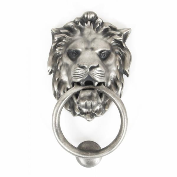 From The Anvil 33019 Lion's Head Door Knocker; Antique Pewter (PE)