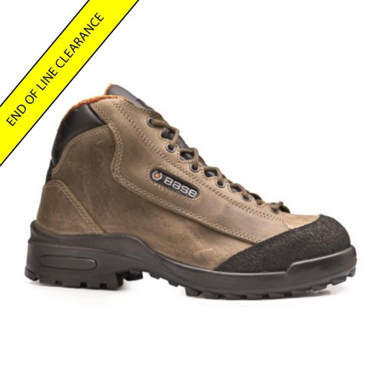 Base B186 Geldof Safety Boot; S3 SRC. EN-ISO 20345: 2011; Size 8 (42)