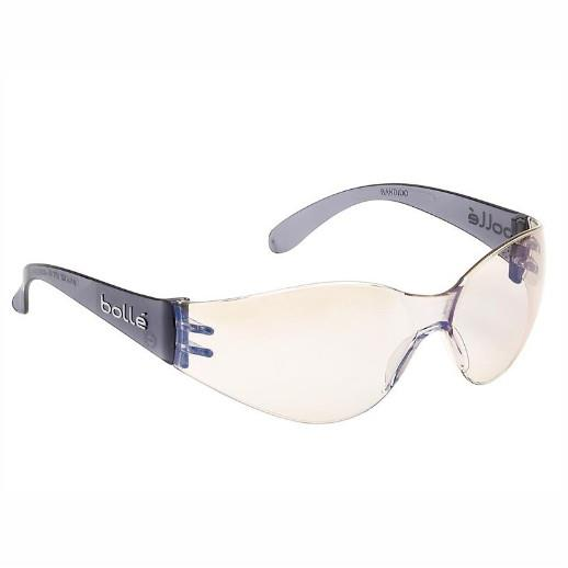 Bolle Bandido Safety Glasses; ESP Lens; Anti-fog and anti-scratch; EN Standards: EN1661FT/EN172-Solar 5-1.4.