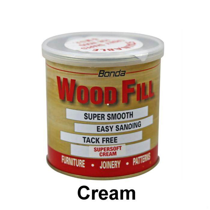 Bonda Wood Fill Super Soft; Cream (CM); No.1 200gm
