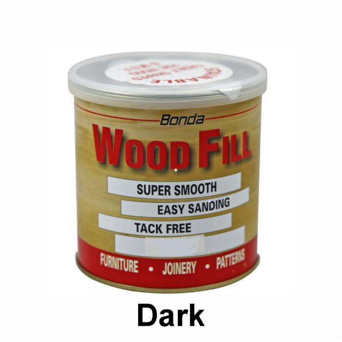 Bonda Wood Fill Super Soft; Dark (DK); No.1 200gm