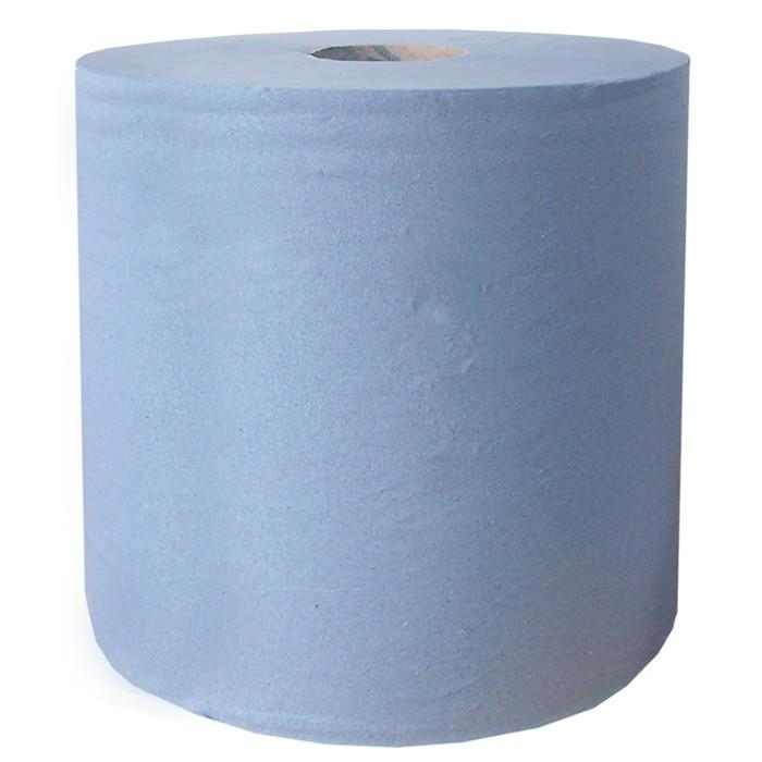 Maxi Paper Wipes; 2 Ply; Blue (BL); 875 Sheets; 280mm x 400mm; 350 Metre Roll