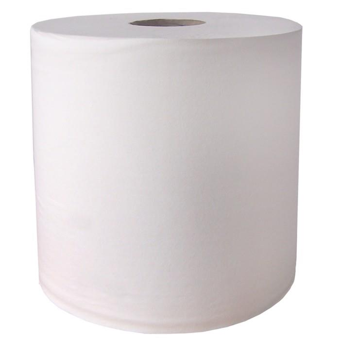 Maxi Paper Wipes; 2 Ply; White (WH); 875 Sheet Roll; 270mm x 400mm; 350 Metre Roll