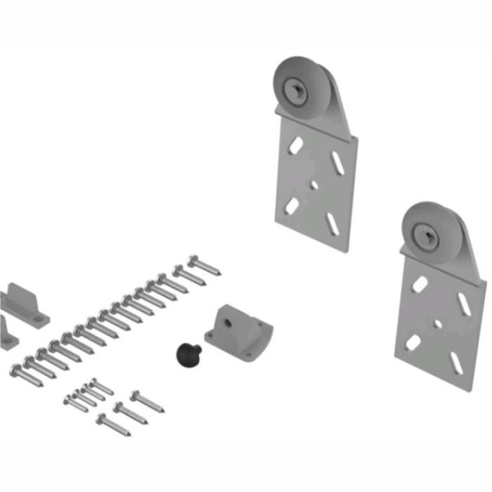 Coburn 06501 Twin 100 Wardrobe Door Gear; Single Front Door Component Pack
