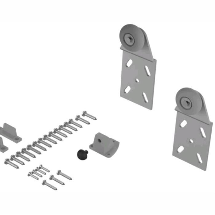 Coburn 06502 Twin 100 Wardrobe Door Gear; Single Rear Door Component Pack