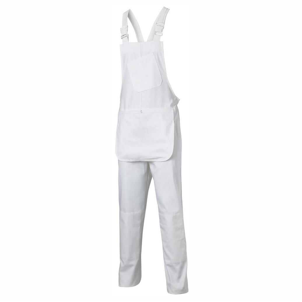 Dickies WD650 Painters Bib and Brace; White (WH); Small (S)