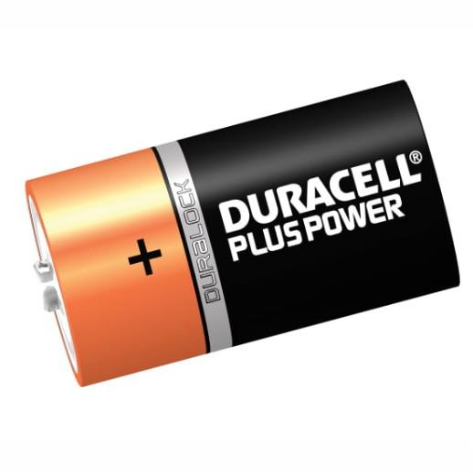 Duracell Battery 'D' Cell; Pack (2)