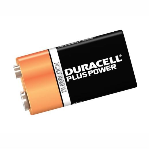 Duracell Battery 9 Volt; Pack (1)