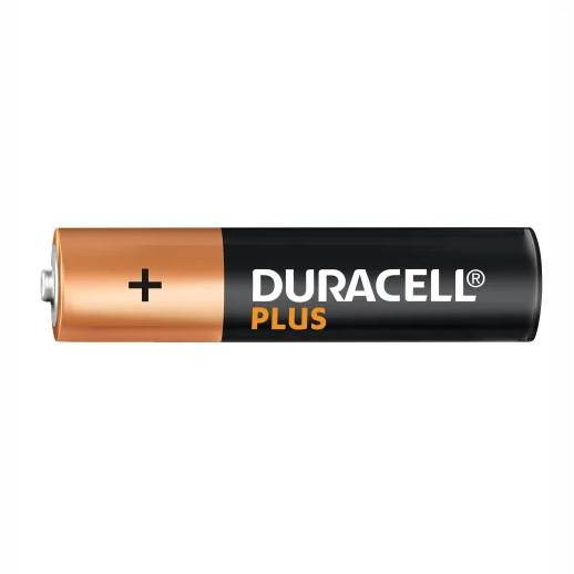 Duracell Plus Power Battery 'AAA' Cell; Pack (4)