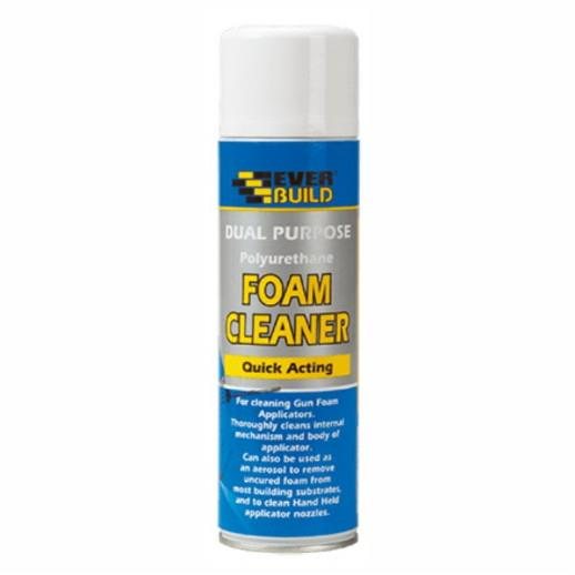 Everbuild Foam Gun Cleaning Fluid; Dual Purpose; 500 ml.