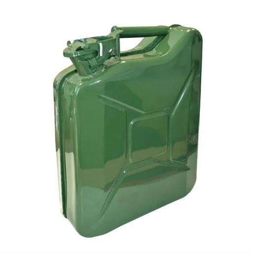 Faithfull AUJERRY10 Metal Jerry Can; Green (GN); 10 Litres