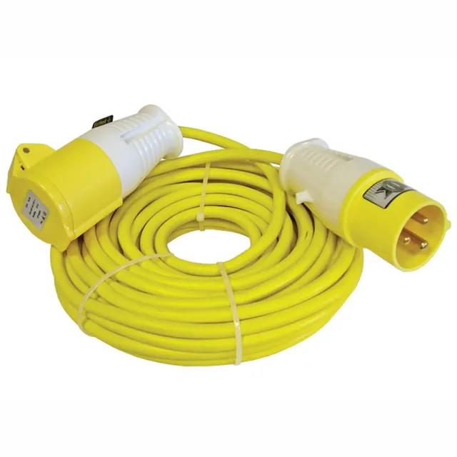 Faithfull FPPTL14ML Faithfull Trailing Extension Lead; 16 Amp; 110 Volt; 1.5mm Cable; 14 Metre