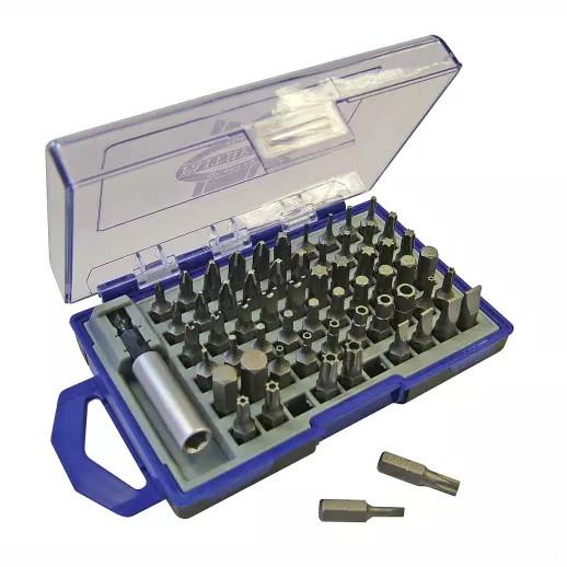 Faithfull SBSET61 Security Bit Set; 61 Piece