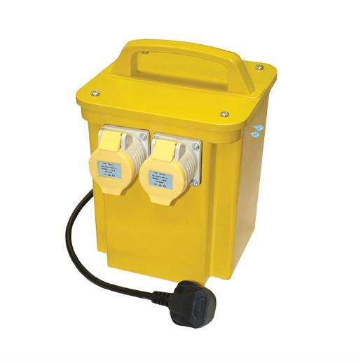 Faithfull TRAN33A 110 Volt Transformer Twin Outlet; 3.3 kva; 16 Amp