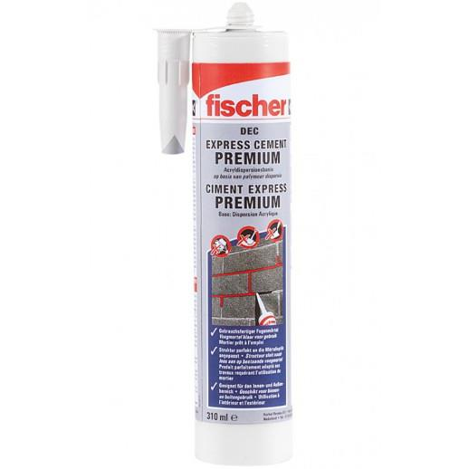 Fischer Premium Dec Express Cement Repair Filler; Sand (SAN); 310ml