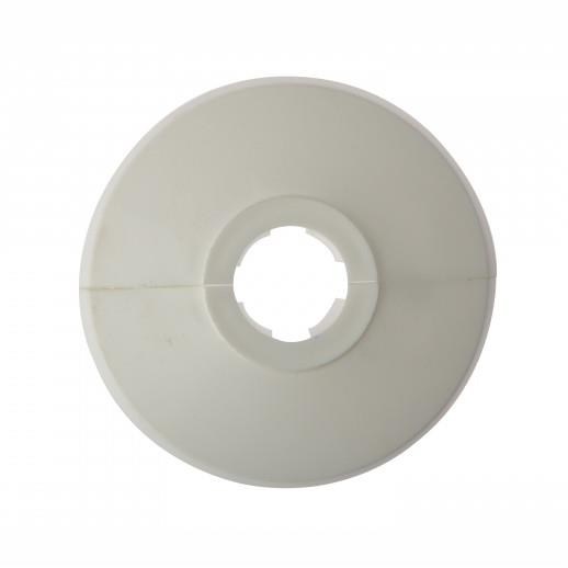 Forgefix PC15; Pipe Collar; White (WH) To Suit 15mm Pipe; Click On; Pack (25)