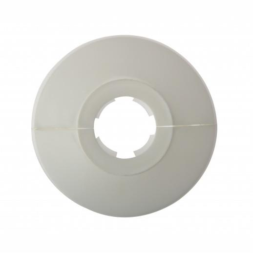 Forgefix PC22; Pipe Collar; White (WH) To Suit 22mm Pipe; Click On; Pack (25)