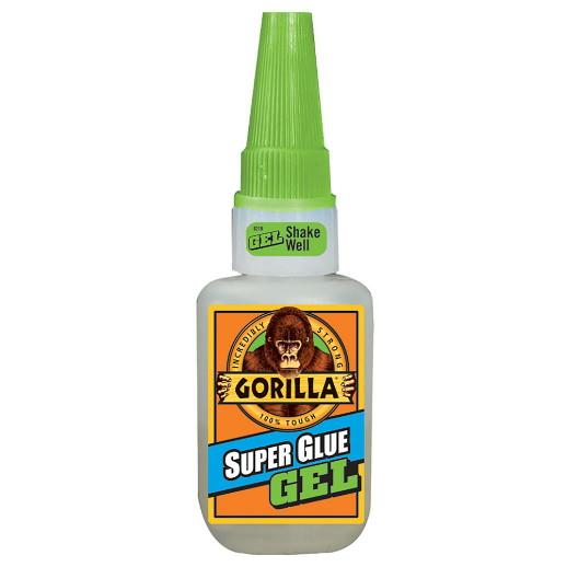 Gorilla Super Glue; No Run Control Gel; 15g