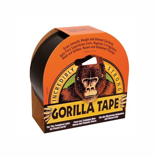 Gorilla Tape; All Weather Tape; Black (BK); 11 Metre