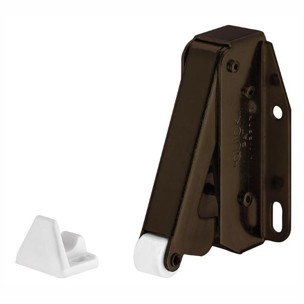 Hafele 245.55.100 Touch (Tutch) Latch; Bronze (BZ)
