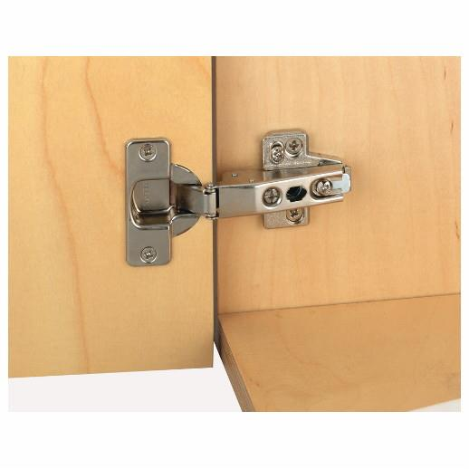Hafele 322.11.532 Nexus Concealed Hinge; Click On; 15' Crank; 35mm; Grass 95'; Screw Fixing; Nickel Plated (NP)