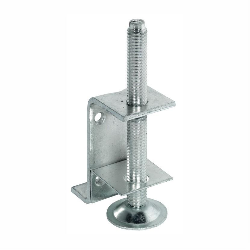 Hafele 637.30.942 Plinth Adjuster; With Supporting Bracket; 18mm Adjustment; Installation Height Minimum 80mm