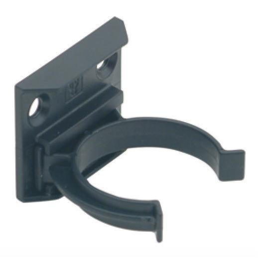 Hafele 637.96.371 Cabinet Plinth Clip & Bracket; Screw Fixing; Black (BK)