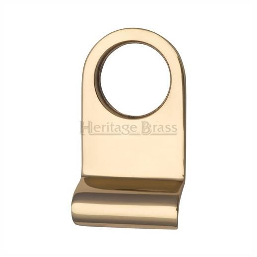 "Heritage V930-PB Round Victorian Cylinder Pull; 83 x 32mm (3 1/4"" x 1 1/4""); Polished Brass  (PB)"