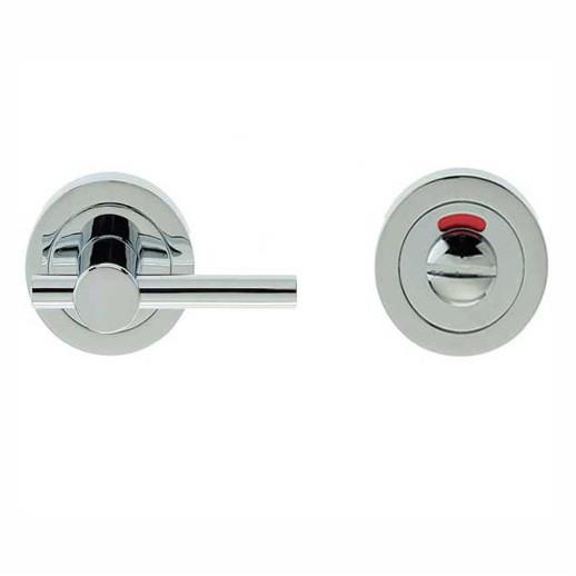 Jedo JV2888PC Disabled Turn And Release; 50mm Diameter Rose; 73mm Easy Turn; Polished Chrome Plated (CP)