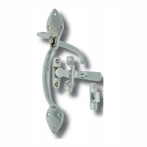 2264 Suffolk Latch; Polished Chrome Plated (CP)