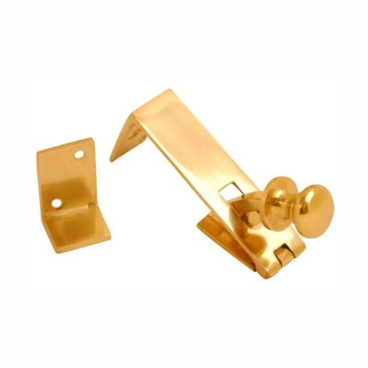 Counter Flap Catch; Polished Brass (PB)