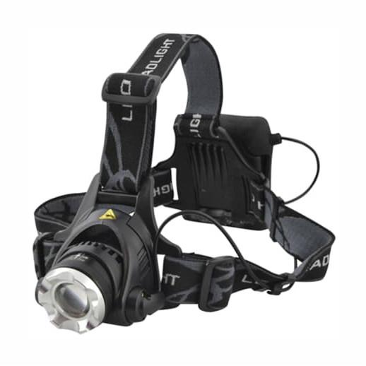 Lighthouse LED Zoom Headlight; 3W Cree; 120 Lumens