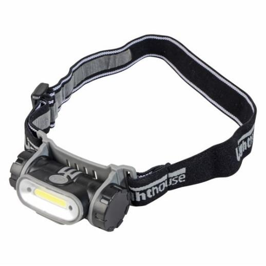 Lighthouse HL-H0505-1 Rechargeable Head Torch; 150 Lumen