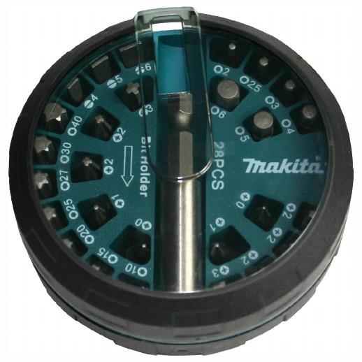 Makita B-28911 Screwdriver Bit Set; 28 Piece