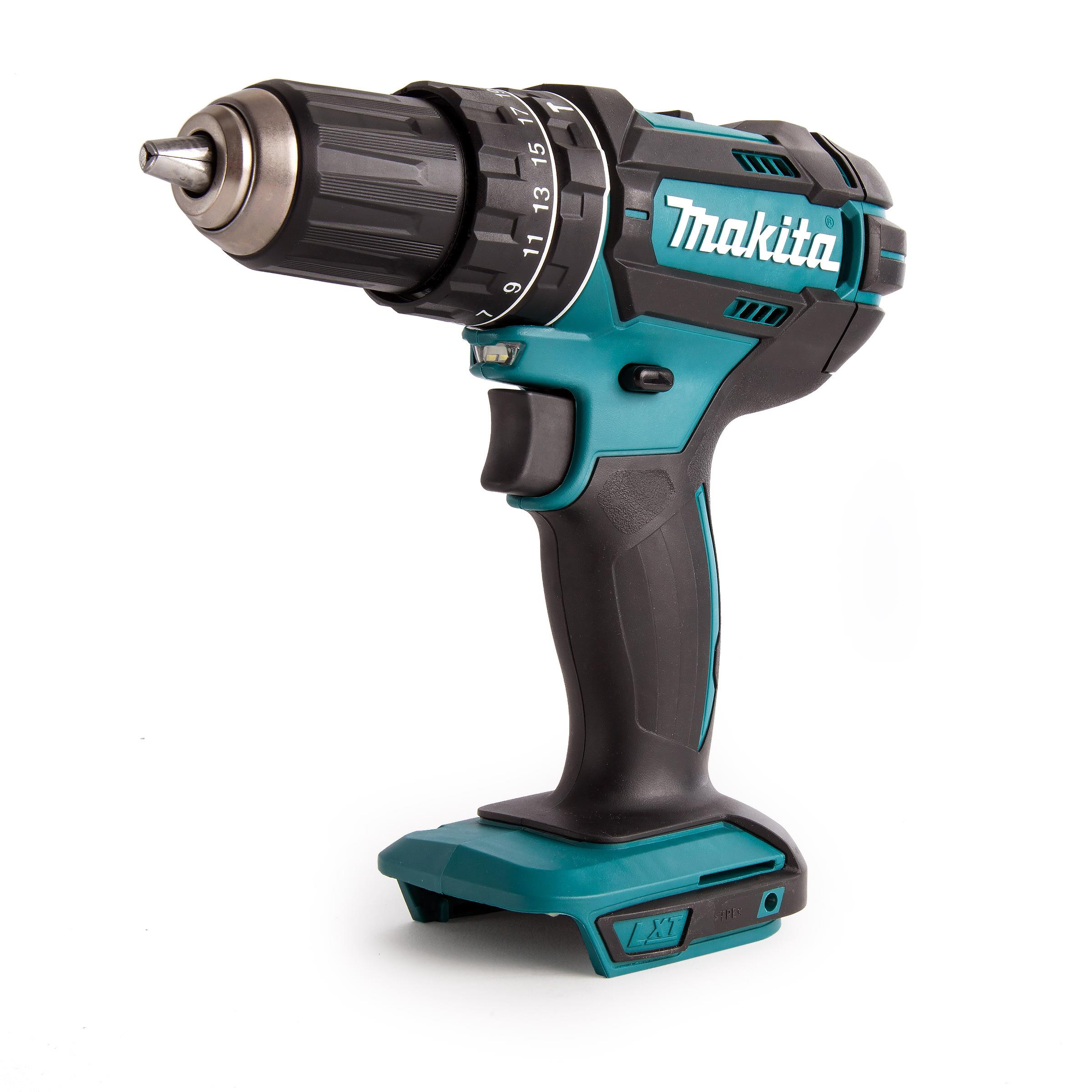 Makita DHP482Z LXT Combination Drill; 2 Speed; 18 Volt; Compact Body; Bare Unit (Body Only)