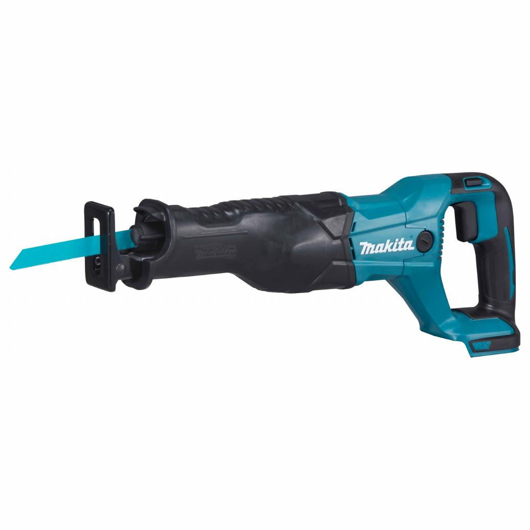 Makita DJR186Z Cordless Reciprocating Saw; 18 Volt; Toolless Blade Change; Bare Unit (Body Only)