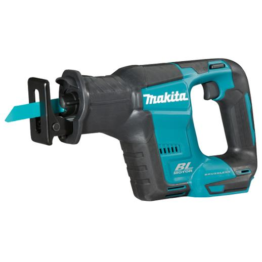 Makita DJR188Z Cordless Reciprocating Saw; 18 Volt; Toolless Blade Change; Brushless; Compact Body; Bare Unit (Body Only)
