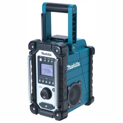 Makita DMR107 Jobsite Radio Compatible With 10.8V CXT Slide Batteries
