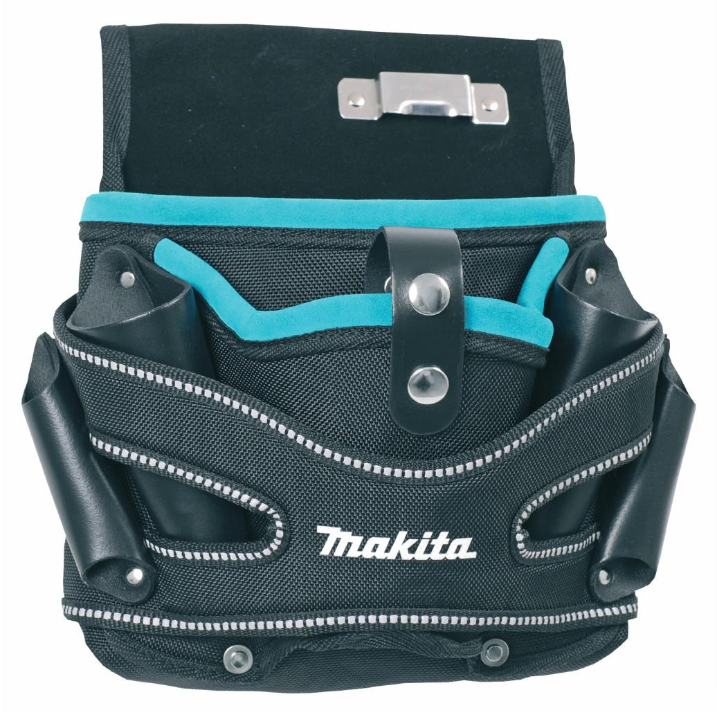Makita P-71722 Tool Belt System; Drill Holster & Pouch; Universal Left/Right Handed