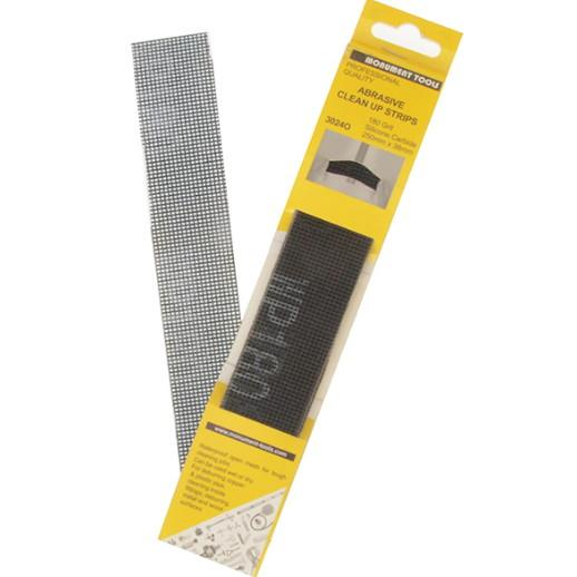 Monument 3024O Abrasive Clean Up Strips; Pack (10)