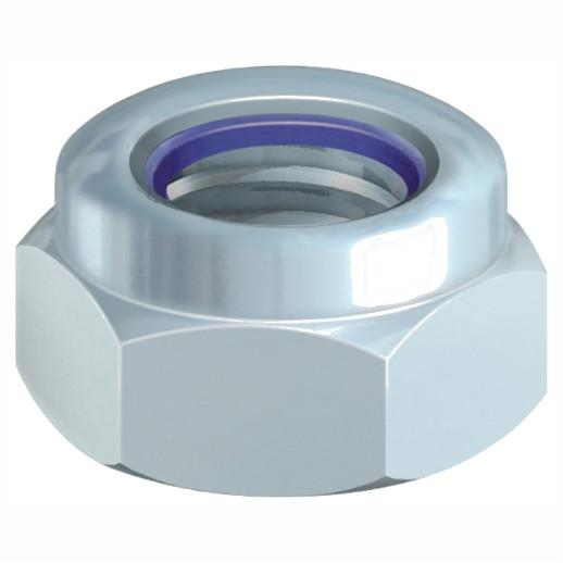 Nylon Insert Nuts; Type T; Zinc Plated (ZP); M5
