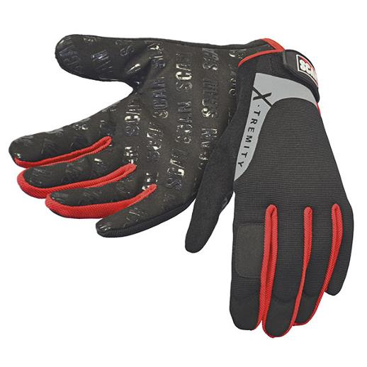 Scan GLOTOUCH Gripper Work Gloves; Size 9; Large (L)